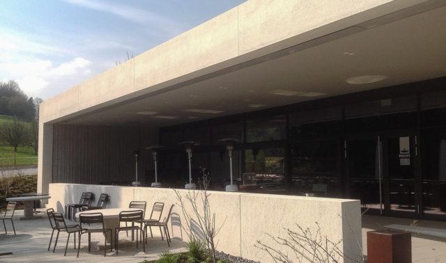 Campus Sursee / Sonnenstoren versenkt