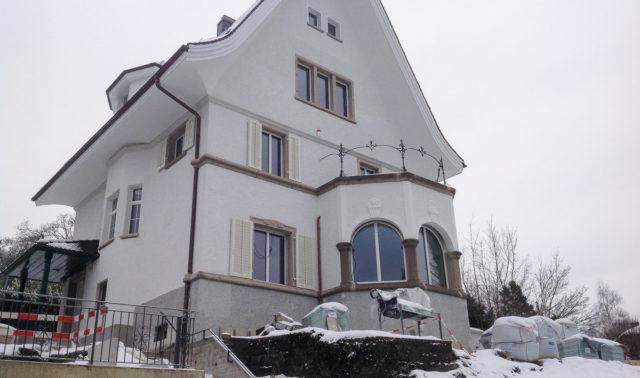 Umbau in Zürich / Fensterläden und Lamellenstoren